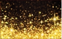 Front Template 0014 - Gold Sparkles