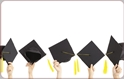 Front Template 0016 - Graduation Hats