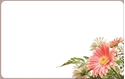 Front Template 0036 - Pink Bouquet