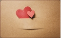 Front Template 0044 - Paper Hearts