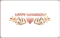 Front Template 0056 - Happy Hanukkah