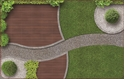 Front Template 0058 - Landscaping Arial