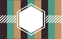 Front Template 0083 - Misc. Pattern Hexagon