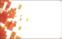 Front Template 0087 - Orange Blocks