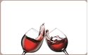 Front Template 0089 - Wine Glasses Clank