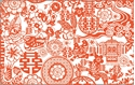 Front Template 0090 - Chinese Pattern